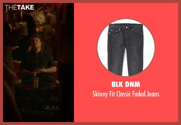BLK DNM black jeans from The D Train seen with Jack Black (Dan Landsman)