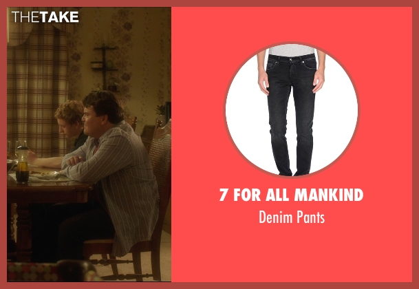 7 For All Mankind black pants from The D Train seen with Jack Black (Dan Landsman)