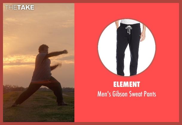 Element black pants from The D Train seen with Jack Black (Dan Landsman)