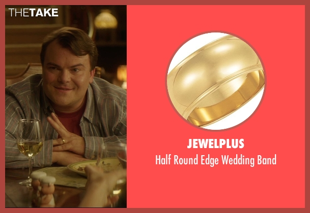 Jewelplus gold band from The D Train seen with Jack Black (Dan Landsman)