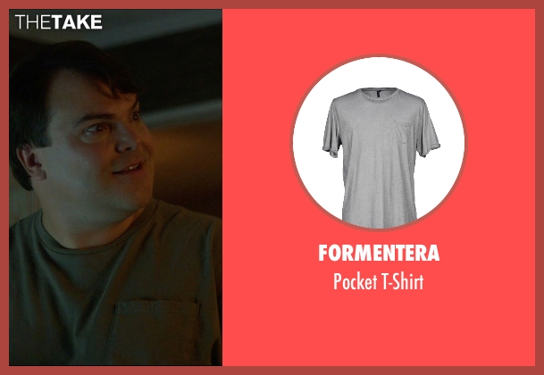 Formentera gray t-shirt from The D Train seen with Jack Black (Dan Landsman)