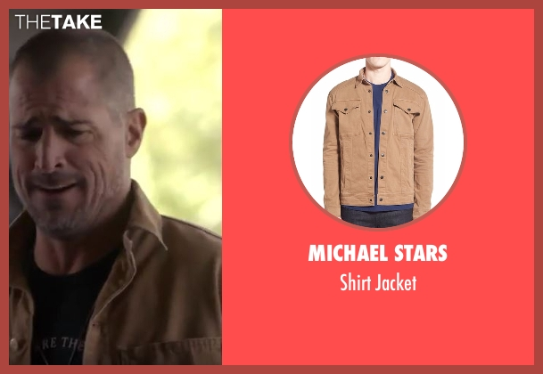 Michael Stars brown jacket from MacGyver seen with Jack Dalton (George Eads)
