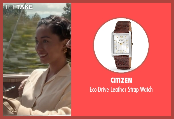 Citizen brown watch from The Longest Ride seen with Jack Huston (Ira (Younger))
