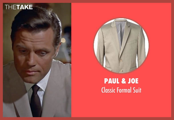 Paul & Joe beige suit from Dr. No seen with Jack Lord (Felix Leiter)