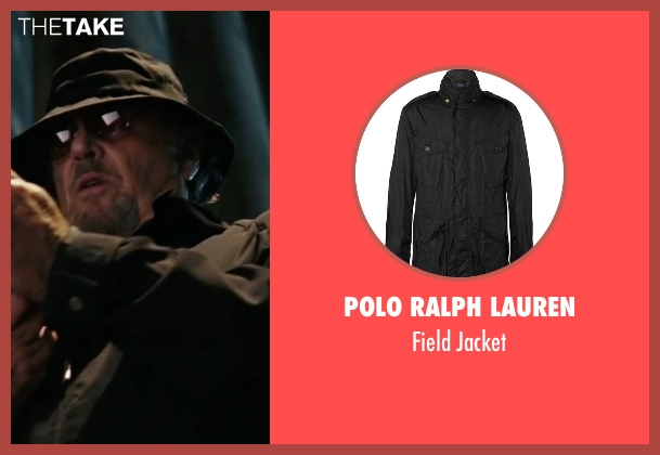 Polo Ralph Lauren black jacket from The Departed seen with Jack Nicholson (Frank Costello)