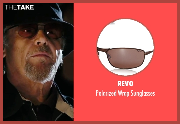 Revo brown sunglasses from The Departed seen with Jack Nicholson (Frank Costello)
