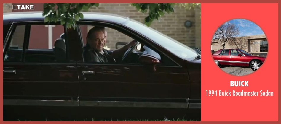 Buick sedan from The Departed seen with Jack Nicholson (Frank Costello)