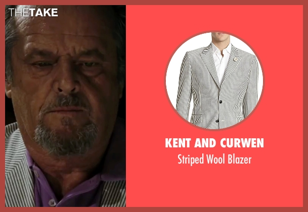 Kent and Curwen white blazer from The Departed seen with Jack Nicholson (Frank Costello)