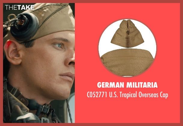 German Militaria cap from Unbroken seen with Jack O'Connell (Louis Zamperini)
