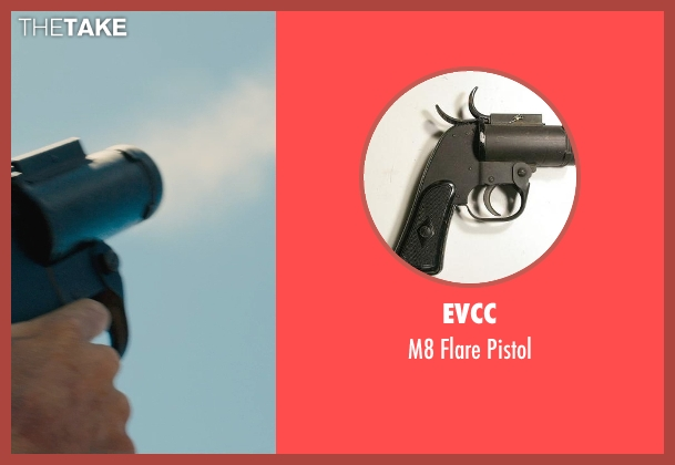 EVCC pistol from Unbroken seen with Jack O'Connell (Louis Zamperini)