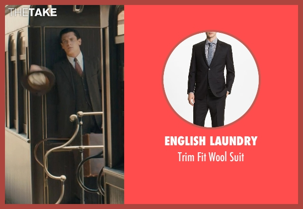 English Laundry suit from Unbroken seen with Jack O'Connell (Louis Zamperini)