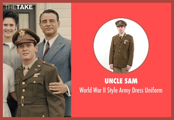 Uncle Sam uniform from Unbroken seen with Jack O'Connell (Louis Zamperini)