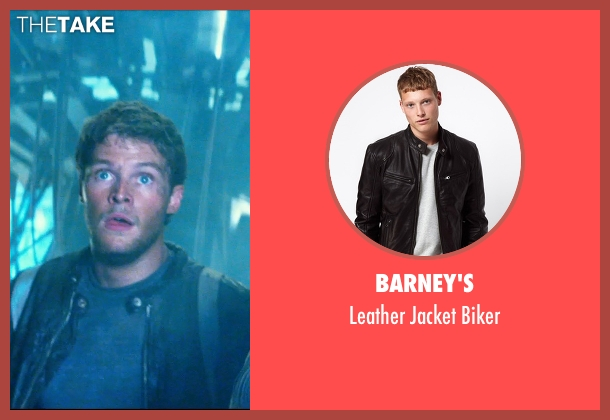 Barney's black biker from Transformers: Age of Extinction seen with Jack Reynor (Shane)