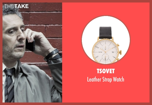 Tsovet black watch from The Night Of seen with Jack Stone (John Turturro)