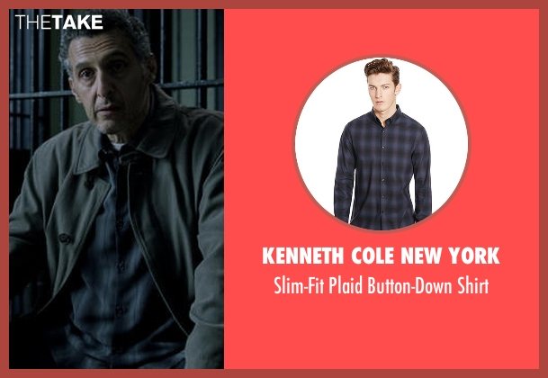 Kenneth Cole New York blue shirt from The Night Of seen with Jack Stone (John Turturro)