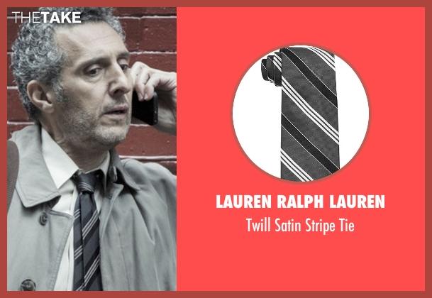 Lauren Ralph Lauren gray tie from The Night Of seen with Jack Stone (John Turturro)