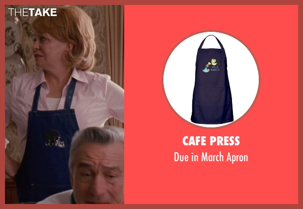 Cafe Press apron from Silver Linings Playbook seen with Jacki Weaver (Dolores)