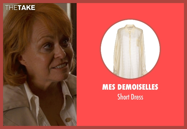Mes Demoiselles beige dress from Silver Linings Playbook seen with Jacki Weaver (Dolores)