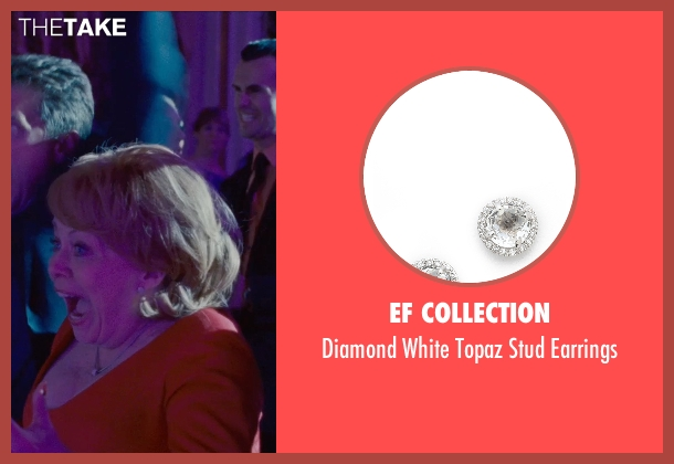 EF Collection silver earrings from Silver Linings Playbook seen with Jacki Weaver (Dolores)