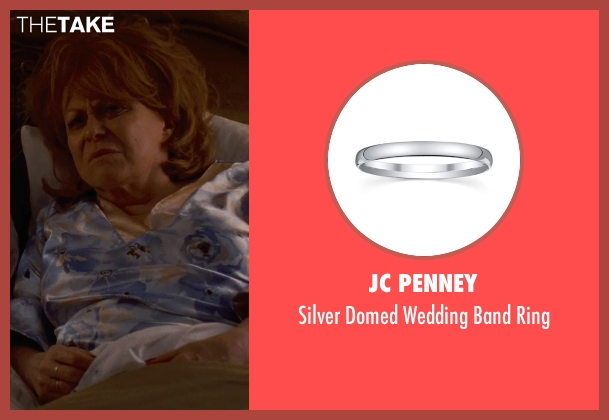 JC Penney silver ring from Silver Linings Playbook seen with Jacki Weaver (Dolores)