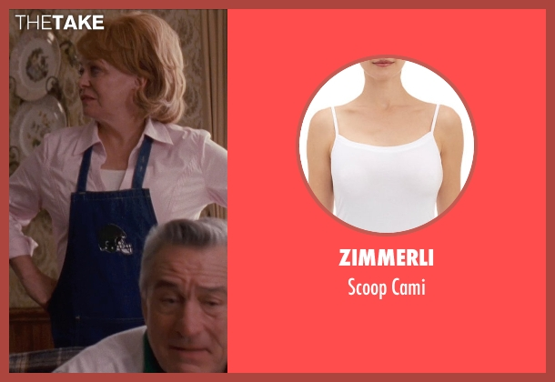 Zimmerli white cami from Silver Linings Playbook seen with Jacki Weaver (Dolores)