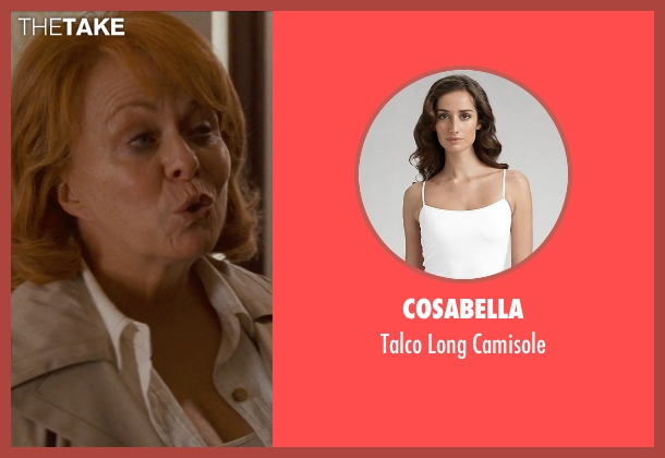 Cosabella white camisole from Silver Linings Playbook seen with Jacki Weaver (Dolores)
