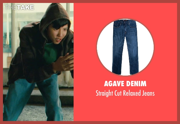 Agave Denim blue jeans from Kick-Ass seen with Jacob Cartwright (Running Teenager)