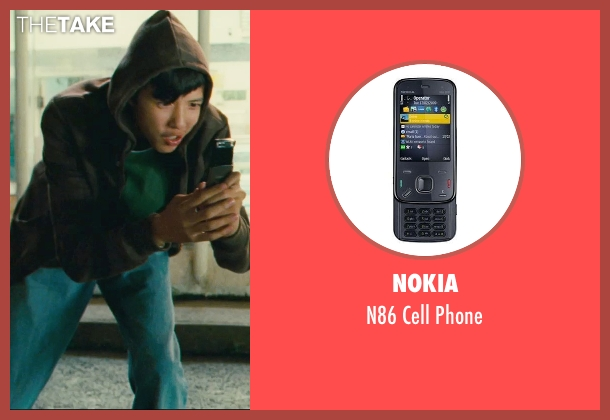 Nokia phone from Kick-Ass seen with Jacob Cartwright (Running Teenager)