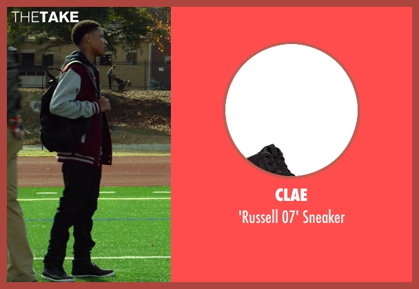 Clae black sneaker from Ride Along seen with No Actor (Ramon)