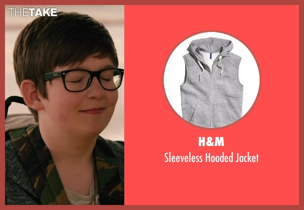 H&M gray jacket from Walk of Shame seen with Jacob Timothy Manown (Kid with Bike)