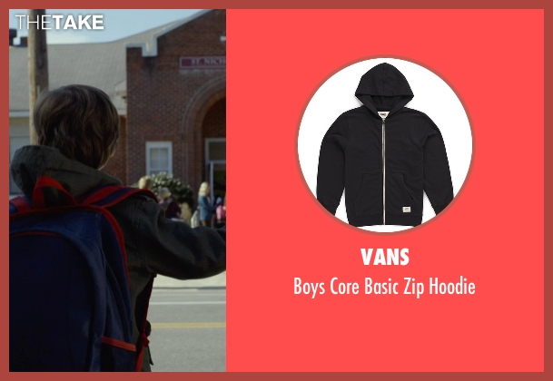 Vans black hoodie from Before I Wake seen with Jacob Tremblay (Cody)