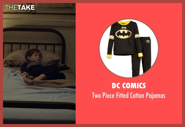 DC Comics black pajamas from Before I Wake seen with Jacob Tremblay (Cody)