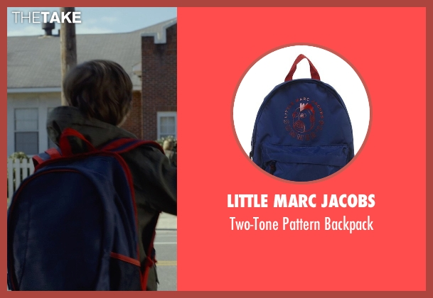 Little Marc Jacobs blue backpack from Before I Wake seen with Jacob Tremblay (Cody)