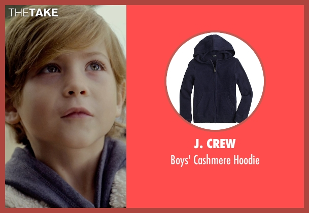 J. Crew blue hoodie from Before I Wake seen with Jacob Tremblay (Cody)