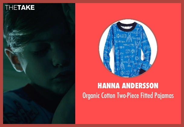Hanna Andersson blue pajamas from Before I Wake seen with Jacob Tremblay (Cody)