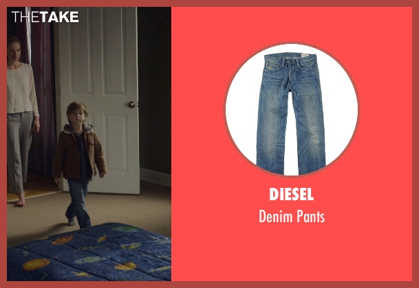 Diesel blue pants from Before I Wake seen with Jacob Tremblay (Cody)