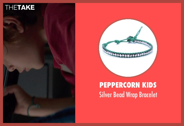 Peppercorn Kids bracelet from Before I Wake seen with Jacob Tremblay (Cody)