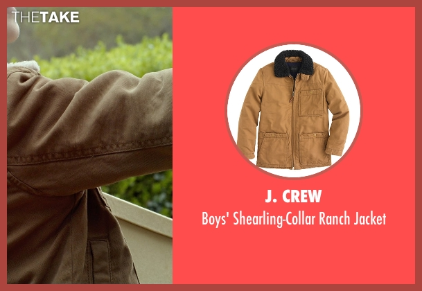 J. Crew brown jacket from Before I Wake seen with Jacob Tremblay (Cody)