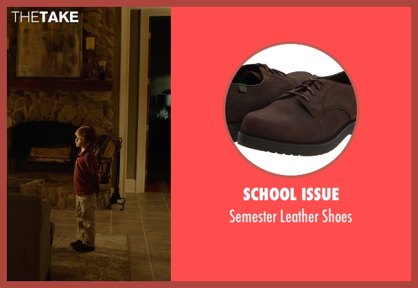 School Issue brown shoes from Before I Wake seen with Jacob Tremblay (Cody)
