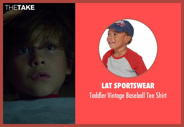 LAT Sportswear gray shirt from Before I Wake seen with Jacob Tremblay (Cody)