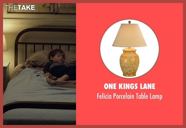 One Kings Lane lamp from Before I Wake seen with Jacob Tremblay (Cody)