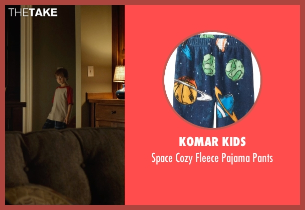 Komar Kids pants from Before I Wake seen with Jacob Tremblay (Cody)