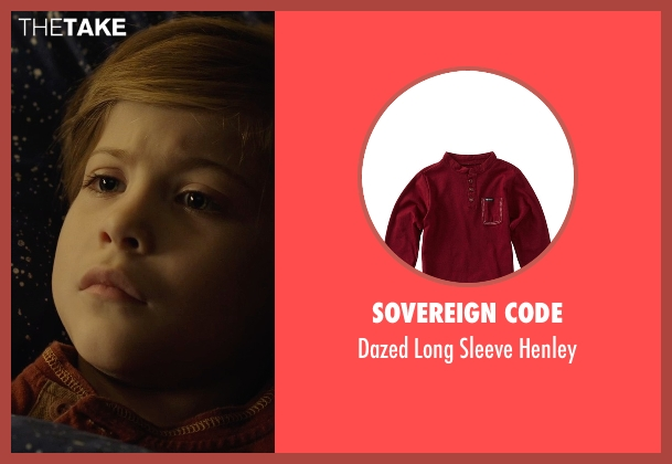 Sovereign Code red henley from Before I Wake seen with Jacob Tremblay (Cody)