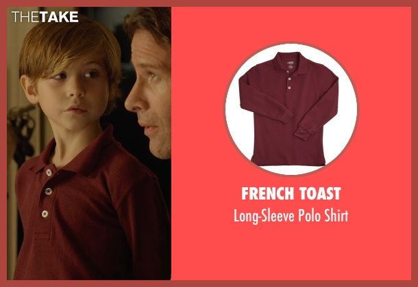 French Toast red shirt from Before I Wake seen with Jacob Tremblay (Cody)