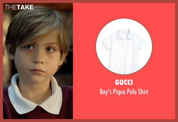 Gucci white shirt from Before I Wake seen with Jacob Tremblay (Cody)