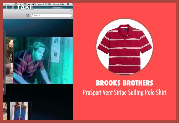 Brooks Brothers red shirt from Unfriended seen with Jacob Wysocki (Ken)