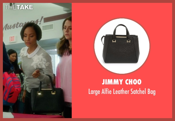 Jimmy Choo black bag from Bad Moms seen with Jada Pinkett Smith (Stacy)