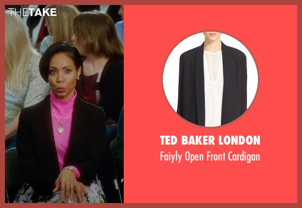 Ted Baker London black cardigan from Bad Moms seen with Jada Pinkett Smith (Stacy)