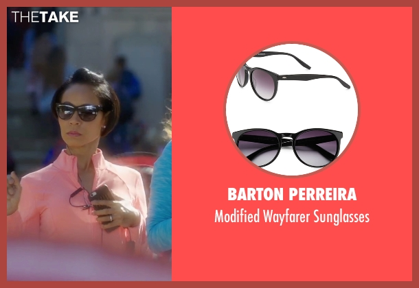 Barton Perreira black sunglasses from Bad Moms seen with Jada Pinkett Smith (Stacy)