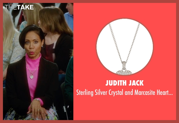 Judith Jack silver necklace from Bad Moms seen with Jada Pinkett Smith (Stacy)